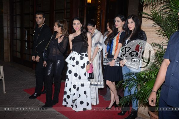 Why is Kareena Kapoor hiding in the picture?