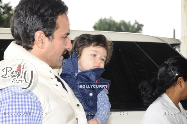 The charming boy: Taimur Ali Khan