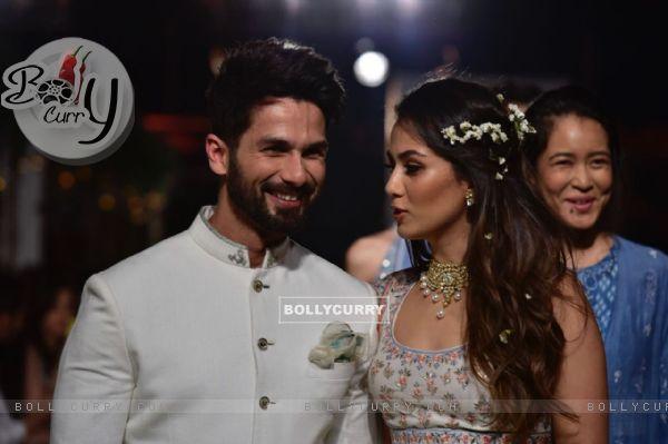 Shahid - Mira's candid frame 2
