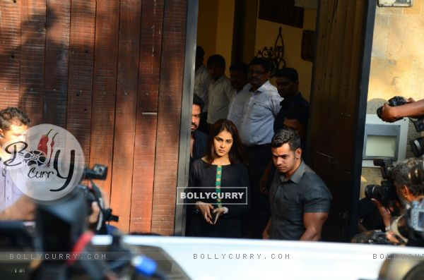 Genelia Dsouza at Anil's residence