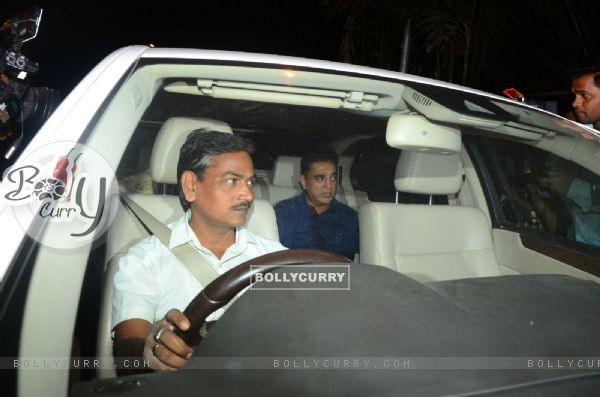Kamal Hassan at Anil's residence