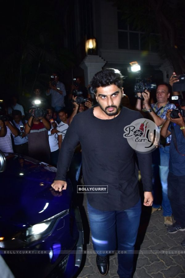 Arjun Kapoor arrives