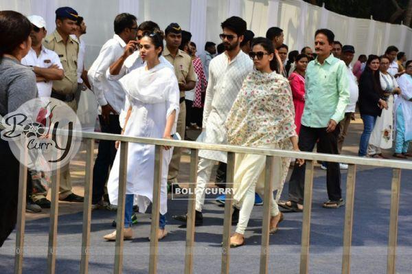 Shahid Mira at the Venue