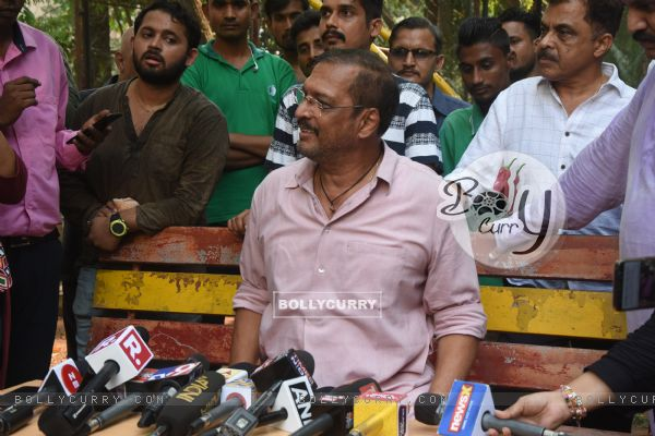 Nana Patekar and Vinita Nanda's press conference