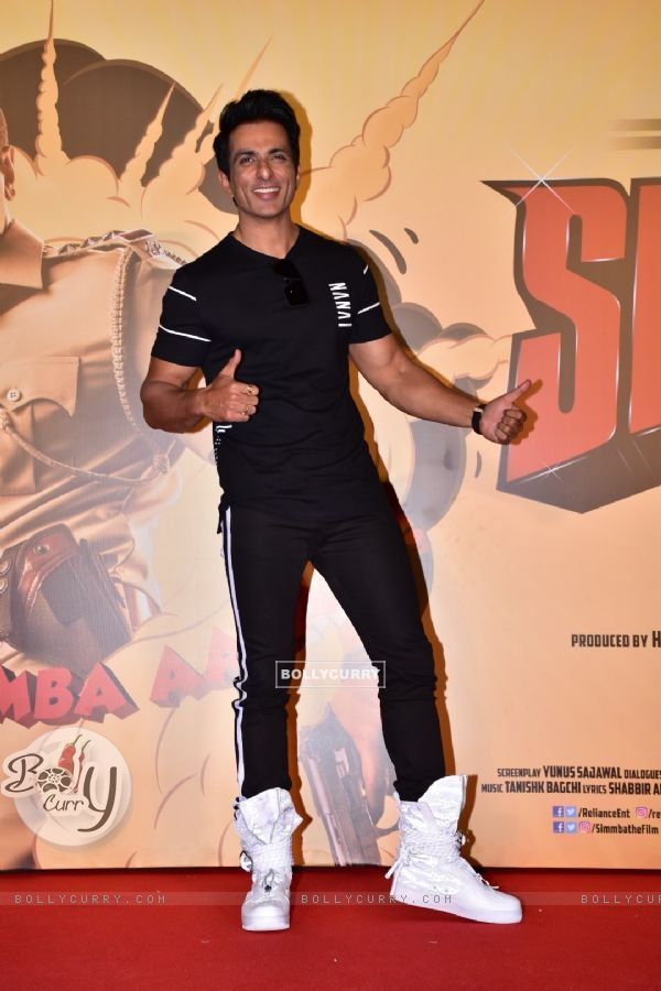 Sonu Sood at Simmba movie trailer launch