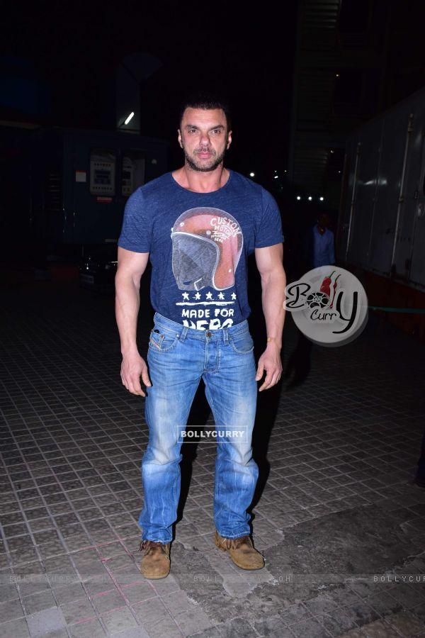 Sohail Khan at the screening of film 'Kedarnath'