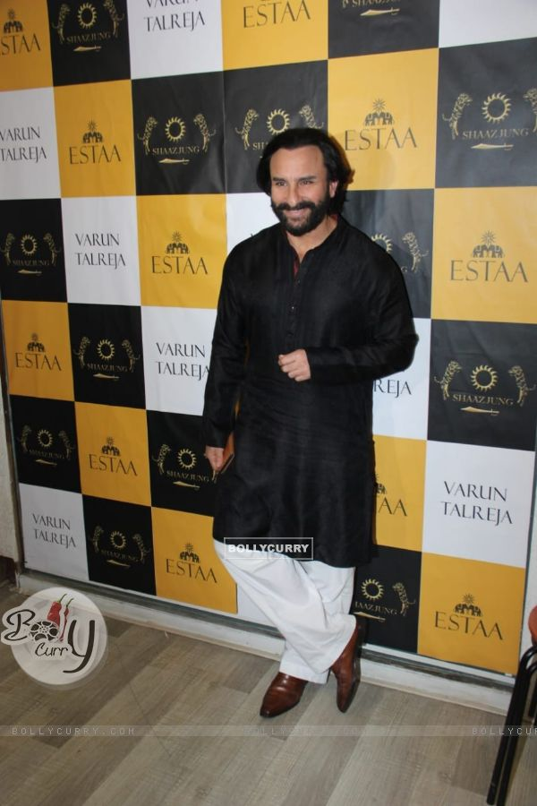 Saif Ali Khan Snapped at a Light and Shadow Event