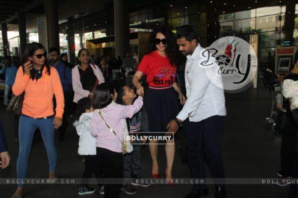 Kangana Ranaut Snapped at Airport