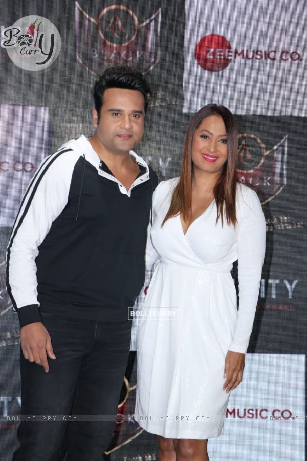 Krushna Abhishek with wife Kashmira Shah spotted at Hard Rock Cafe in Andheri