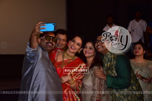 Shankar Mahadevan and Kangana Ranaut at Manikarnika trailer launch