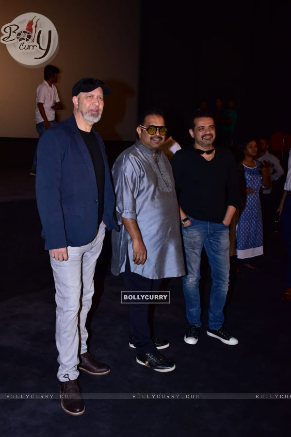 Shankar–Ehsaan–Loy at Manikarnika trailer launch