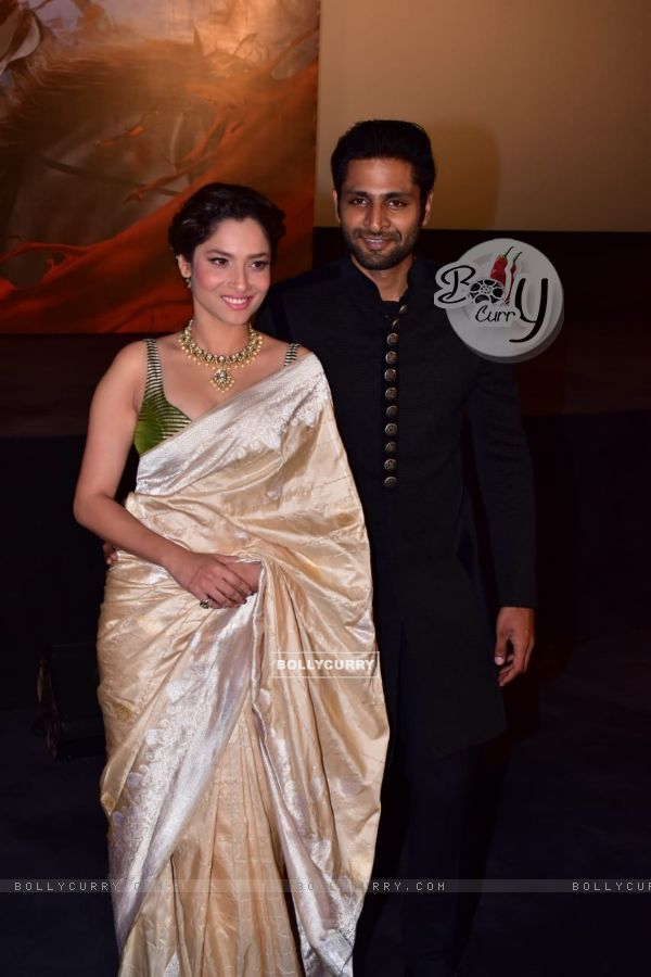 Vaibhav Tatwawadi and Ankita Lokhande at Manikarnika trailer launch (441795)
