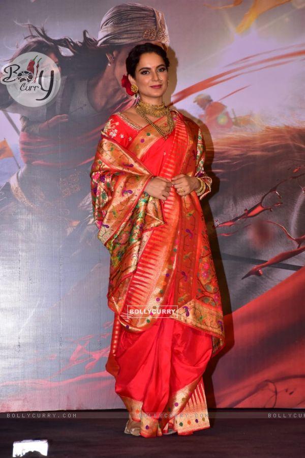 Kangana Ranaut at Manikarnika trailer launch