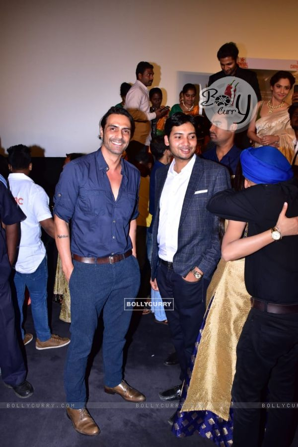 Arjun Rampal at Manikarnika trailer launch (441798)