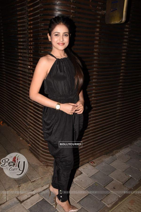 Mishti at Ankita Lokhande's birthday bash