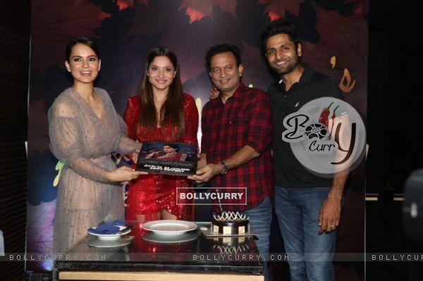 Kangana Ranaut, Ankita Lokhande, Vaibhav Tatwawadi at Ankita Lokhande's birthday bash