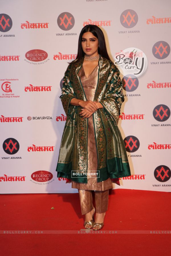 Bhumi Pednekar at Lokmat Awards