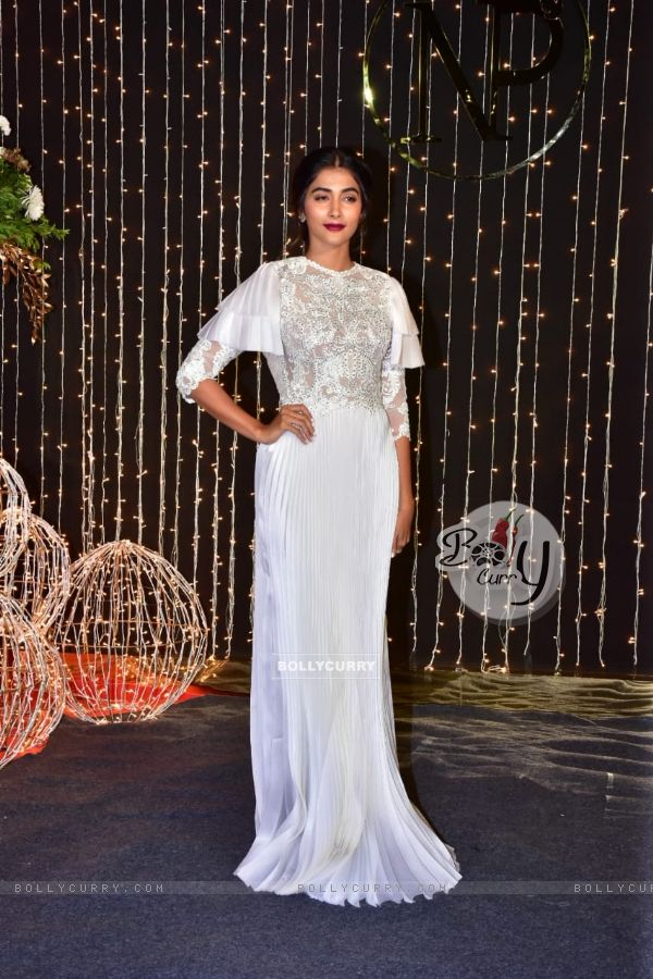 Pooja Hegde at Priyanka Chopra and Nick Jonas Wedding Reception, Mumbai