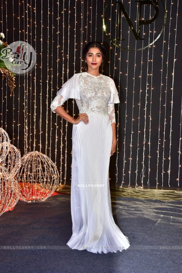 Pooja Hegde at Priyanka Chopra and Nick Jonas Wedding Reception, Mumbai