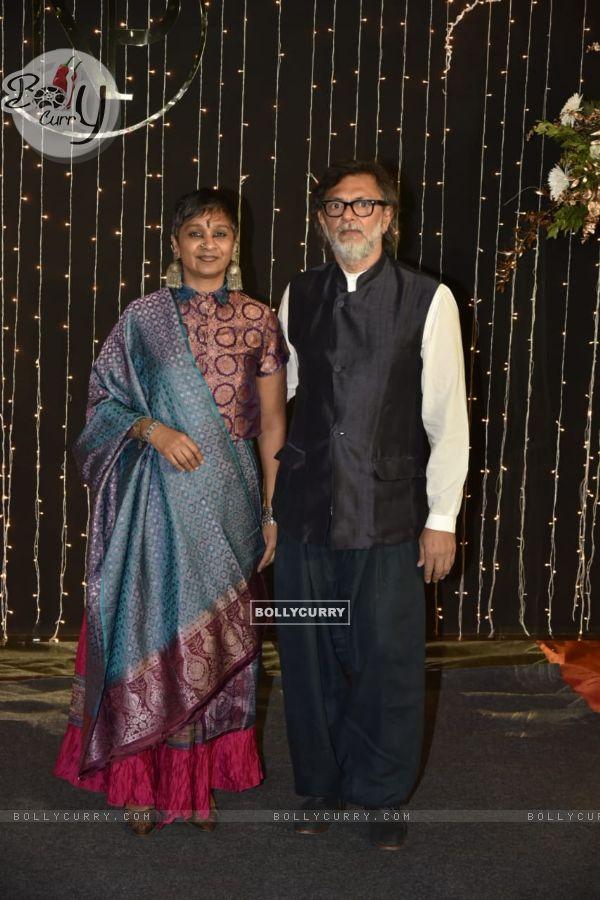 Rakeysh Omprakash Mehra at Priyanka Chopra and Nick Jonas Wedding Reception, Mumbai