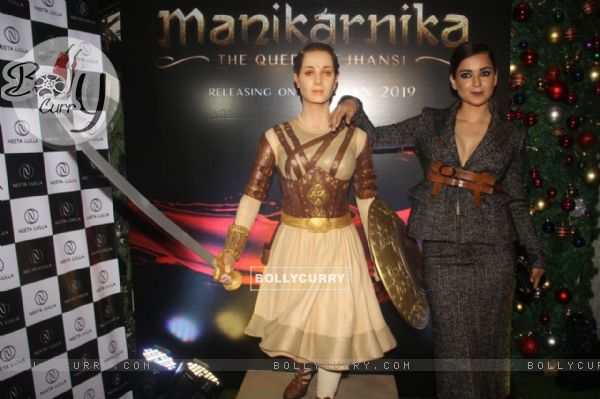 Kangana Ranaut at Manikarnika bash (442566)
