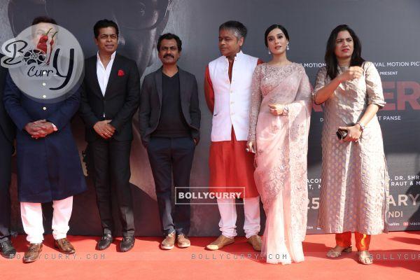 Nawazuddin Siddiqui, Amrita Rao at Thackeray movie trailer launch
