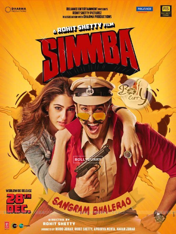 Ranveer Singh and Sara Ali Khan in Simmba poster (442764)
