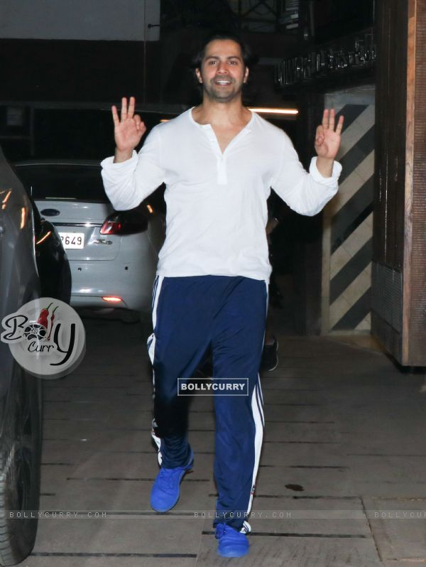 Varun Dhawan spotted around the town