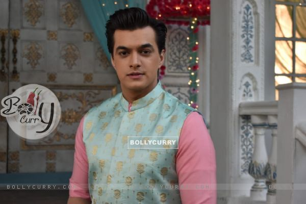 Mohsin Khan aka Kartik at Naira and Kirti Baby Shower from Yeh Rishta Kya Kehlata Hai