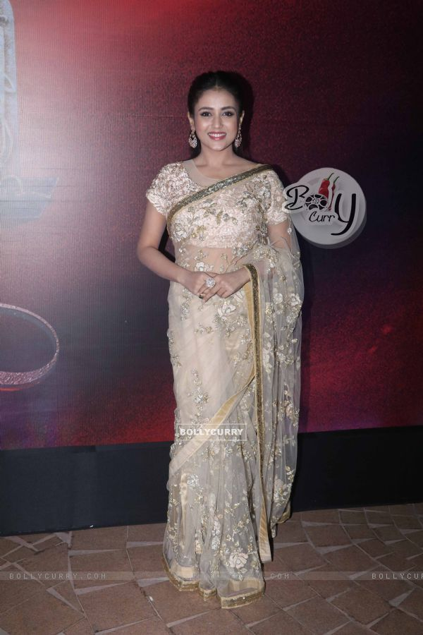 Mishti spotted at Manikarnika music launch