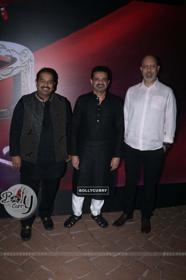 Shankar-Ehsaan-Loy spotted at Manikarnika music launch (443067)