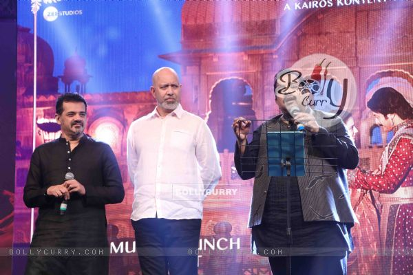 Shankar-Ehsaan-Loy spotted at Manikarnika music launch