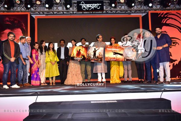Celebrities snapped at 'Thackeray' Music Launch