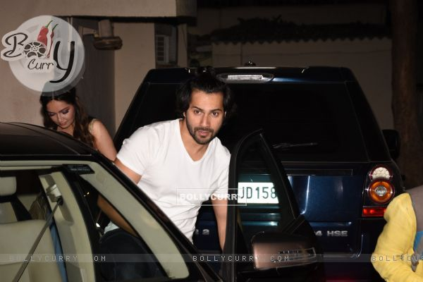 Varun Dhawan at Cheat India Special Screening