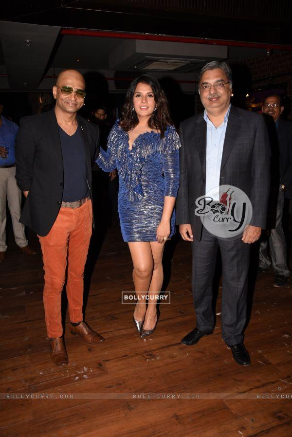 Richa Chadha snapped at Shakeela 2019 calendar launch