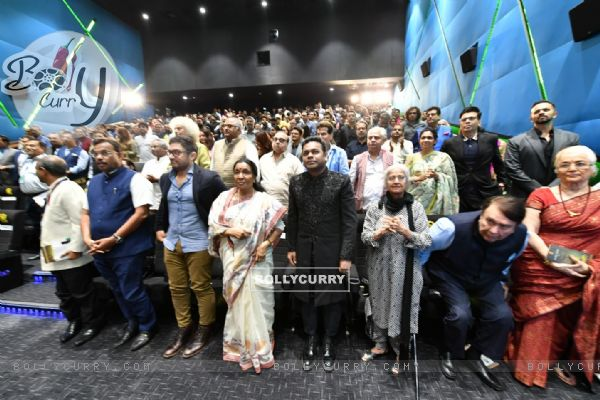 Celebs snapped at The National Museum of Indian Cinema