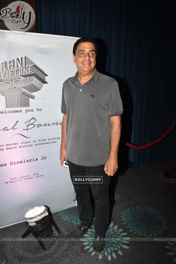 Ronnie Screwvala at the launch of Boman Irani's production house