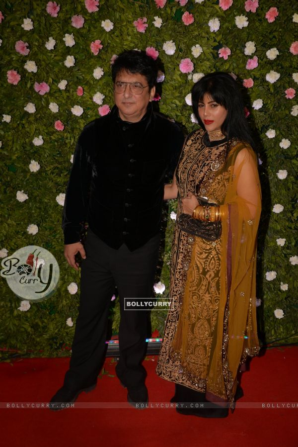 Sajid Nadiadwala at Amit Thackeray's reception