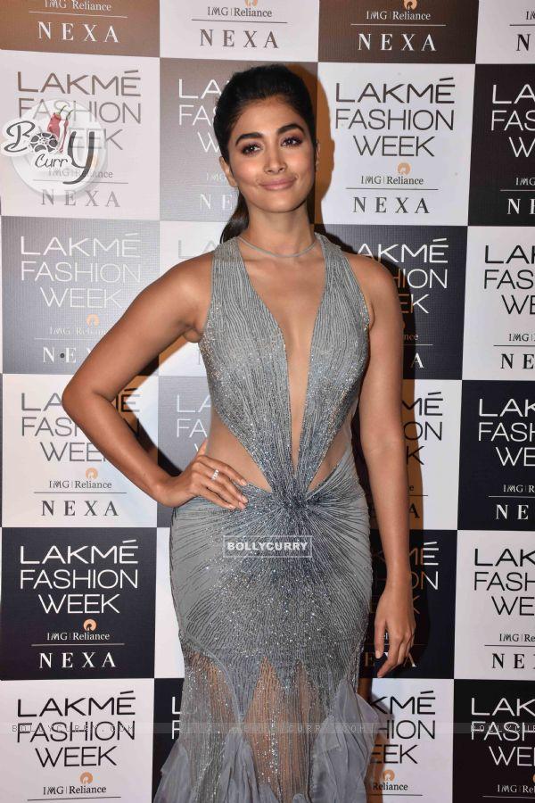 Pooja Hegde at Lakmé Fashion Week Opening Show