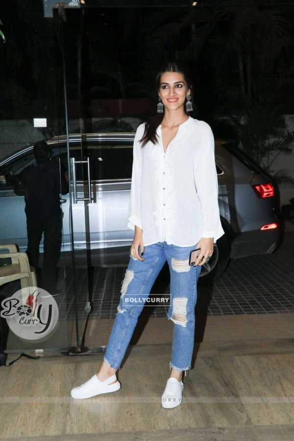 Kriti Sanon at the screening of 'Ek Ladki Ko Dekha Toh Aisa Laga'