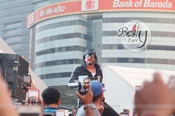 Ranveer Singh snapped at Lakme Fashion Week