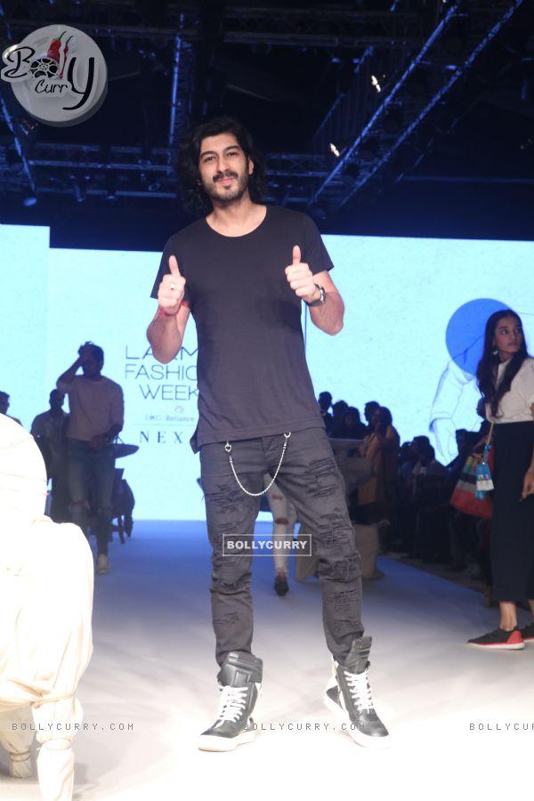 Mohit Marwah snapped at Lakme Fashion Week