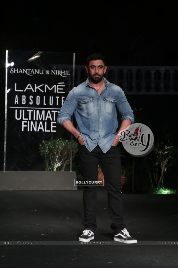 Amit Sadh snapped at Lakme Fashion Week