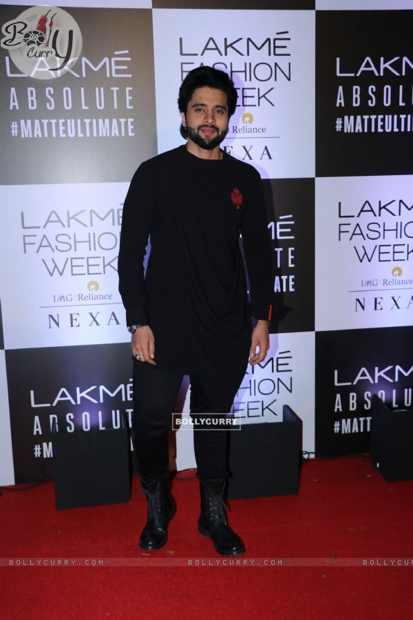 Jackky Bhagnani snapped at Lakme Fashion Week
