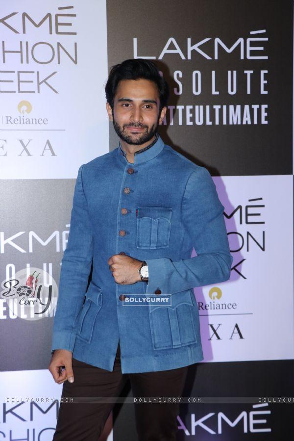 Rohan Mehra snapped at Lakme Fashion Week