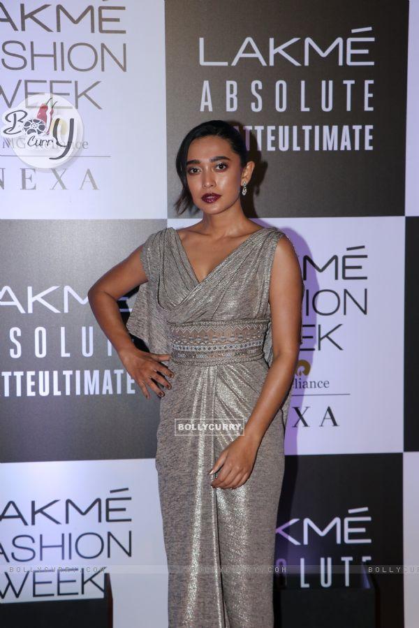 Sayani Gupta snapped at Lakme Fashion Week
