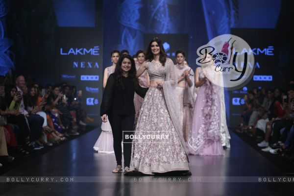 Diana Penty snapped at Lakme Fashion Week