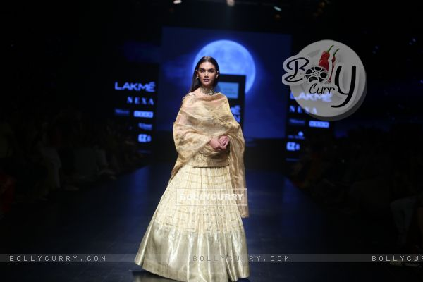 Aditi Rao Hydari snapped at Lakme Fashion Week