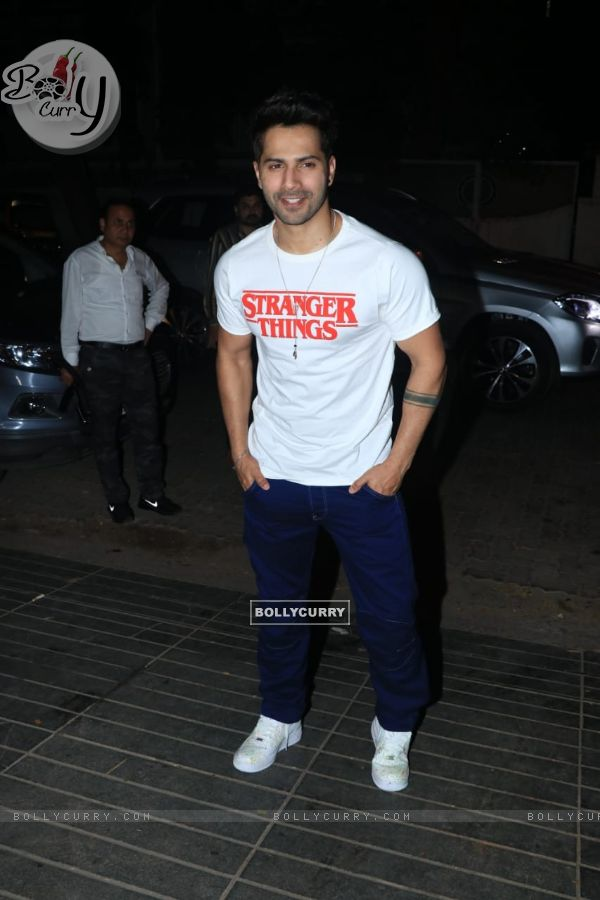 Varun Dhawan at Nora Fatehi's Birthday bash!