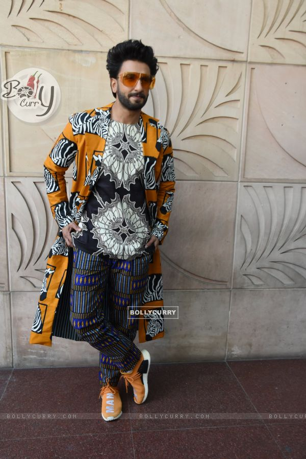 Ranveer - Alia snapped during Promotions of Gully Boy